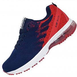 [DONGHO] U7 Airrun AR9100 Sneakers Navy Red _ Walking Running Trekking Hiking Shoes Man Women Fashion Sneakers