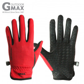 [BY_Glove] GMS10031 Gmax NanoQ Smart Touch Women's Long Gloves, silver nano mesh fabric and silicone coating